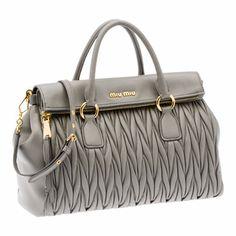 Miu Miu e-store · Handbags · Top Handle Bags · Top Handle RN0947_N88_F0K44
