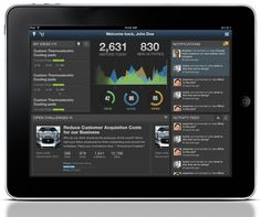 Tablet App home page ux_spigit