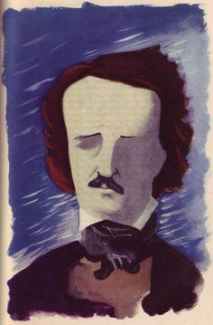 E. McKnight Kauffer's Poe illustrations - 50 Watts