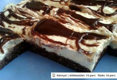2014 best of 15 desszertje Hungarian Cake, Hungarian Recipes, Hungarian Food, Sweet Recipes, Cake Recipes, Dry Bread Crumbs, No Bake Treats, Food To Make, Sweet Tooth