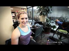 Paralympian Chelsea McClammer's high expectations for London: Road to London - YouTube