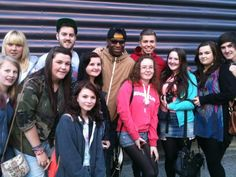 The Loveable Rogues meet the fans at Newcastle College!