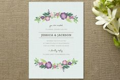 Beautiful Shower Invitations