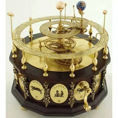 orrery (a mechanical model of the solar system) – James Ferguson c. orrery (a mechanical model of the solar system) – James Ferguson Sistema Solar, Solar System, Instruments, Victorian, Cool Stuff, Antiques, Beautiful, Helix Nebula, Orion Nebula