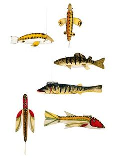 Antique Fish Decoys - PA Kessler