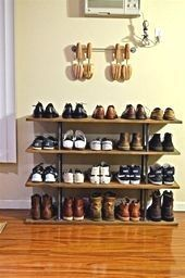 shoe storage ideas for small spaces outdoor shoe storage ideas living room s Outdoor Shoe Storage, Living Room Storage, Storage Ideas, Shoe Rack, Small Spaces, Shoes, Board, Shoe, Organization Ideas