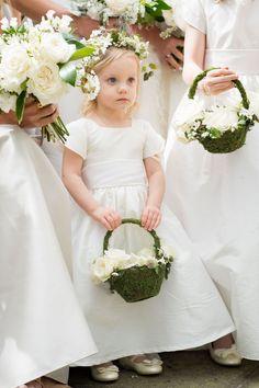 bridal Colors flower girl basket spring wedding summer wedding southern wedding SEERSUCKER RING PILLOW