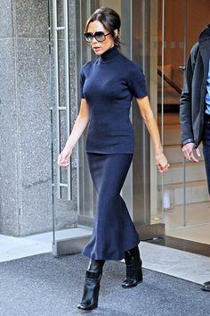 Victoria Beckham dans les rues de New york