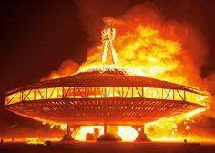 NK Guy photographs Art of Burning Man in the Nevada desert