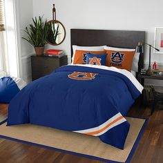 Auburn Tigers NCAA Bed in a Bag (Contrast Series)(Full)