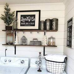 "Fantastic ""laundry room storage diy"" information is readily available on our internet site. Have a look and you wont be sorry you did Laundry Room Shelves, Laundry Room Remodel, Small Laundry Rooms, Laundry Room Organization, Laundry Room Design, Storage Shelves, Storage Ideas, Small Shelves, Basement Laundry"