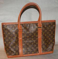 Authentic Louis Vuitton Vintage Monogram Sac Weekend Shoulder Bag on Etsy, $698.00
