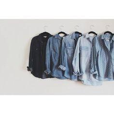 FETISH : Blue Shirts