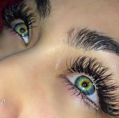 When done professionally eye lash extensions give you long lushes, beautiful lashes that look natural. Beautiful Eyes Color, Stunning Eyes, Pretty Eyes, Cool Eyes, Rare Eye Colors, Rare Eyes, Aesthetic Eyes, Eye Photography, Eye Art