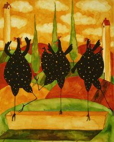 'Water Ballet' by Debi Hubbs on Art.com
