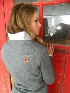 Such a cool sweater, it has a fox on the back shoulder! #stylemyride StyleMyRide.net