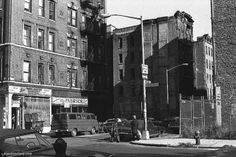 Broome and Forsythe Streets, 1970's.