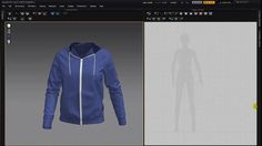 Marvelous Designer Making a Hoodie part 01