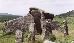 Zennor Quoit, near the village of Zennor in the Penwith area of Cornwall, UK…