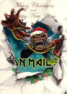 Iron Maiden ~ Merry Metal Christmas & Happy New Year