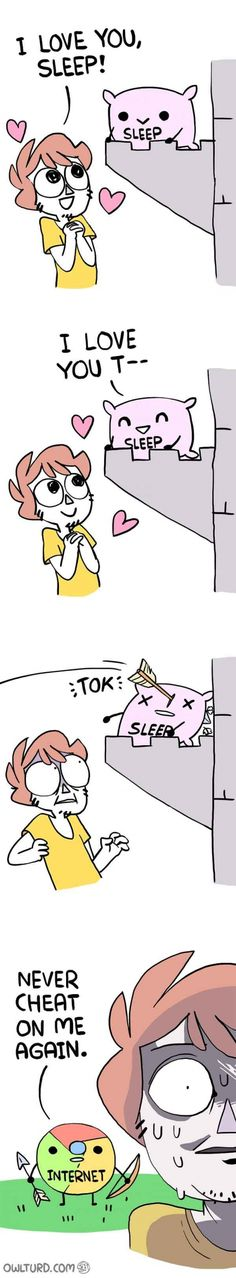 I love you sleep...