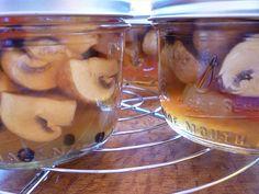 pickled crimini mushrooms