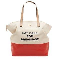 Kate Spade Eat Cake For Breakfast