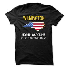 (Top Tshirt Charts) WILMINGTON Its Where My Story Begins at Tshirt Family Hoodies, Funny Tee Shirts