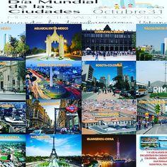Día Mundial de las ciudades, la Recosrec y sus Aliados en las distintas ciudades