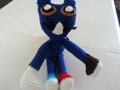 Crochet Pete the Cat by LEACreations on Etsy, $15.00