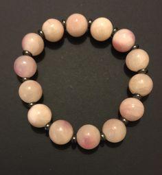 https://www.etsy.com/shop/FawnzTreasures  Pale Pink Beaded Bracelet