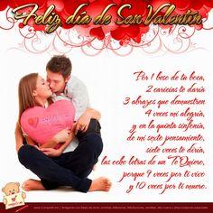 Frases, chistes, anécdotas, reflexiones, Amor y mucho más.: Feliz dia del Amor y la Amistad,por un beso de tu boca.