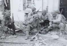 most information indicates that troops of the 41st Armored Infantry Battalion (2nd Armored Division) were the primary recipients. Some evidence indicates that some units of the 2nd and 30th Infantry Divisons also participated. Lastly, several veterans of various armored battlions serving in France