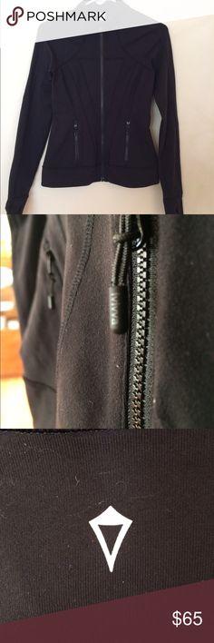 574721957856e LULULEMON KIDS black workout jacket A black