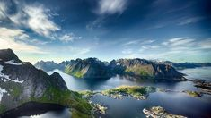 Panoramic View of Reine in Lofoten, Norway – populært fototapet Places In Europe, Places To Travel, Places To See, Travel Destinations, Lofoten, Voyage Europe, Europe Travel Guide, Travel Abroad, Les Fjords