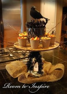 The photos on this blog are simply amazing for Halloween party ideas! by angela