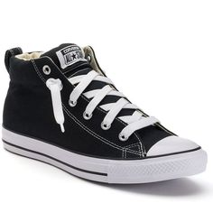 sports shoes 234a8 1ea19 Adult Converse All Star Chuck Taylor Street Mid-Top Sneakers ( 60) ❤ liked