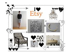 """""""We LOVE Etsy"""" by xena-style ❤ liked on Polyvore featuring CO"""