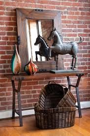 Hall table horse statue
