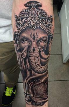 Ganesh tattoo ! Vancouver 604