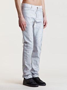 Balenciaga Mens Mesh Layer Pants