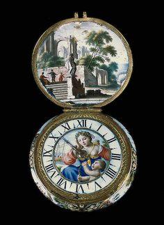 hunter case watch 1670 paris.