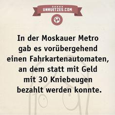 Moskauer Metrostation - Unnützes Wissen auf unnuetzes.com