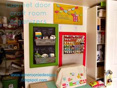diy- craft room- organizers