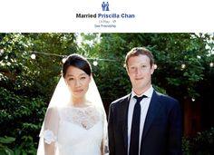 Priscilla Chan Married Mark Zuckerberg on Saturday in a Claire Pettibone Wedding Dress Claire Pettibone, Celebrity Wedding Photos, Celebrity Weddings, Celebrity Couples, Celebrity News, Celebrity Gossip, Surprise Wedding, Wedding Day, Wedding Tips