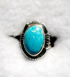 CANDELARIA TURQUOISE RING   658 by Flagstafftraders on Etsy