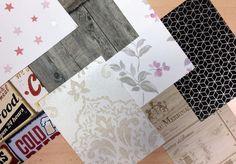 échantillons de papier peint