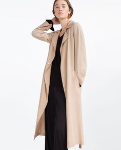 FLOWING TRENCH COAT |COLLECTION SS16 | #ZARA