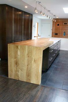 Oregon White Oak Countertop | Made | Modern Designs for Modern Ideals