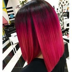 http://www.behindthechair.com/displayarticle.aspx?ID=5149 Red Cherry Pink Bright Hair Colour Color Coloured Colored Fire Style